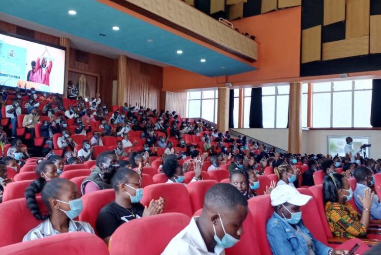 University of Nairobi Community gather for the UoN Talent Day 2021