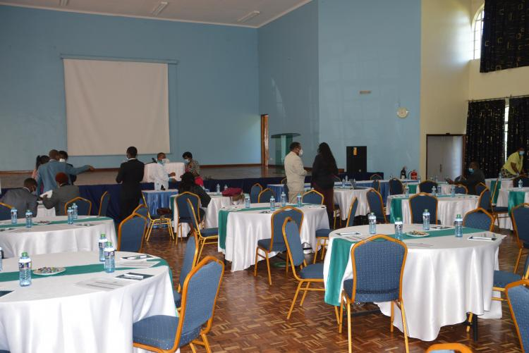 In readiness for the Workshop