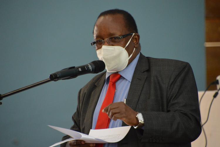 DVC, Human Resource and Administration, Prof. Enos Njeru