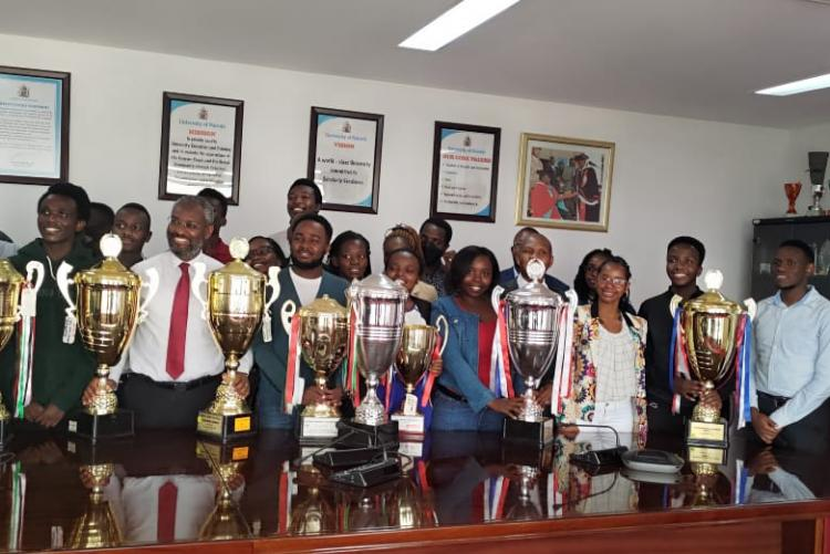 Well done Choir, the UoN Community is Extremely Proud of you!