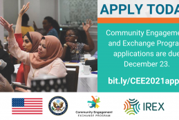 IREX Community solutions exchange program 2021